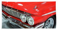 Hand Towel featuring the photograph Classic 61 Impala Car by Tyra OBryant
