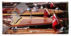 Classic Boats Bath Towel