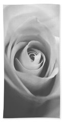Classic Bw Rose Bath Towel