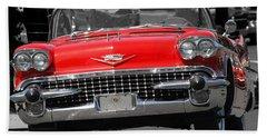 Classic Car Hand Towel