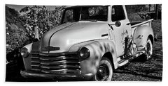 Classic Chevy Truck Bath Towel by Kirt Tisdale
