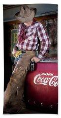 Classic Coca-cola Cowboy Bath Towel