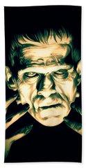 Classic Frankenstein Hand Towel