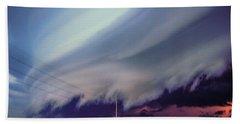 Classic Nebraska Shelf Cloud 028 Hand Towel