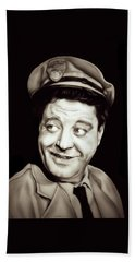 Classic Ralph Kramden Hand Towel by Fred Larucci