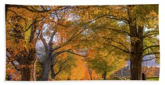 Classic Vermont Fall Hand Towel