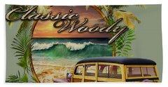 Classic Woody Bath Towel