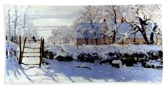 Claude Monet: The Magpie Hand Towel