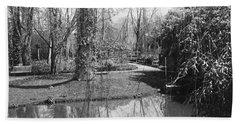 Claude Monet's Garden At Giverny Bath Towel