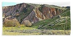 Clay Cliffs Near Danseys Pass Hand Towel