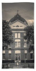 Clay County Courthouse Bw Hand Towel