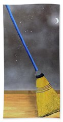 Cleaning Out The Universe Bath Towel by Thomas Blood