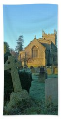 Clear Light In The Graveyard Hand Towel by Anne Kotan