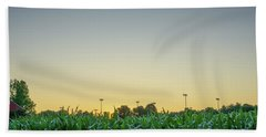 Clear Skies Sunset Bath Towel