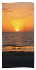 Clear Sunset Bath Towel by Clara Sue Beym