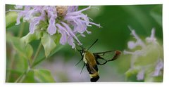 Clearwing Moth Bath Towel