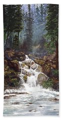 Clearwater Falls Hand Towel