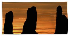 Clent Hills Sunset Bath Towel