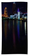 Cleveland Nightly Reflections Hand Towel