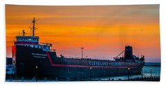 Cleveland Sunset Hand Towel