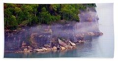 Cliff Fog Bath Towel
