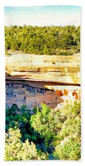 Cliff Palace Study 1 Hand Towel