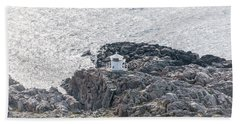 Cliffs At Kullaberg Bath Towel