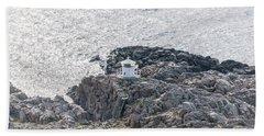 Cliffs At Kullaberg Hand Towel