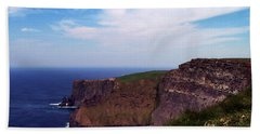 Cliffs Of Moher Aill Na Searrach Ireland Hand Towel