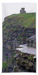 Cliffs Of Moher Ireland Bath Towel