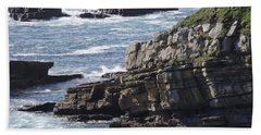 Cliffs Overlooking Donegal Bay Bath Towel
