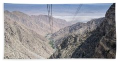 Climbing Mount San Jacinto Hand Towel