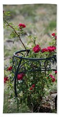 Climbing Rose Hand Towel