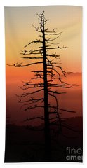 Bath Towel featuring the photograph Clingman's Dome Sunrise by Douglas Stucky