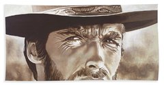 Clint Eastwood Hand Towel
