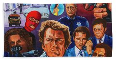 Clint Hand Towel by Michael Frank