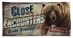 Close Encounters Bear Bath Towel