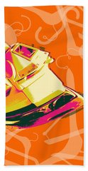 Clothes Iron Pop Art Bath Towel