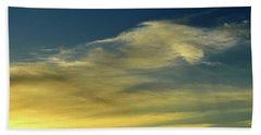 Cloud Composition Two  Bath Towel by Lyle Crump