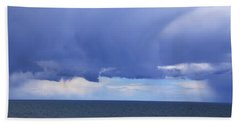 Hand Towel featuring the photograph Cloud Curtain by Nareeta Martin