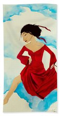 Cloud Dancing Of The Sky Warrior Bath Towel