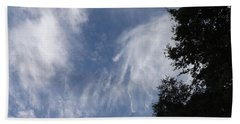 Bath Towel featuring the photograph Cloud Fingers by Don Koester