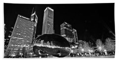 Cloud Gate Bath Towel