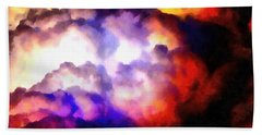 Cloud Sculpting 1 Hand Towel