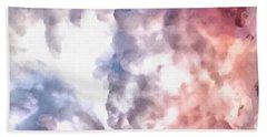 Cloud Sculpting 3 Bath Towel