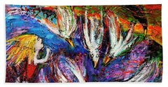 Cloud Street - Geraldton Seagulls Hand Towel