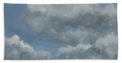 Cloud Study Series Three Bath Towel