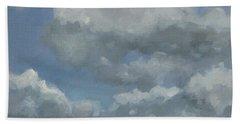 Cloud Study Series Three Bath Towel