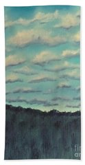 Cloud Study Bath Towel