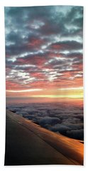 Cloud Sunrise Bath Towel